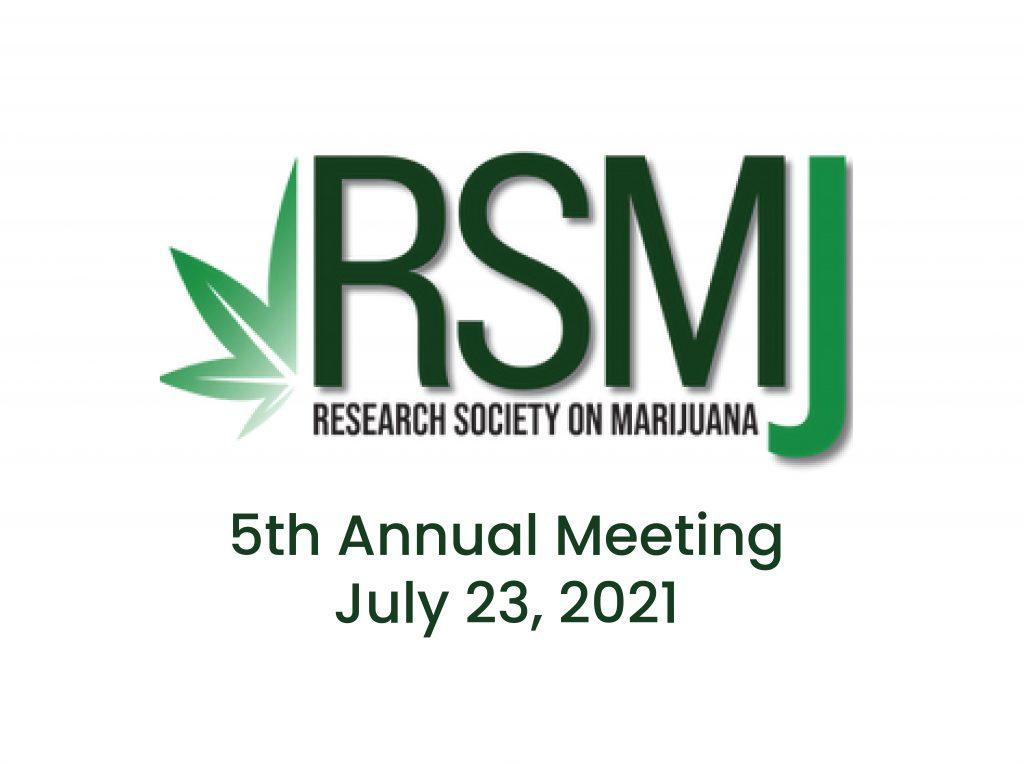 Consortium Members present at the Research Society on Marijuana